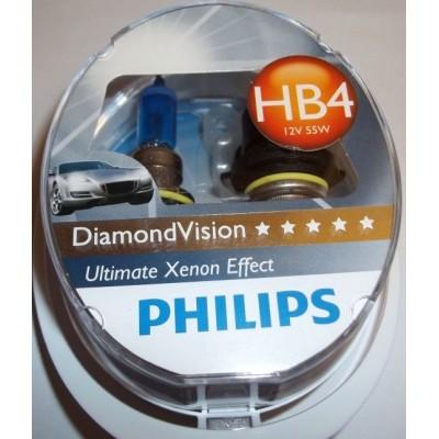 Галогенная лампа НB4 (9006) Philips 9006DVS2 DiamondVision