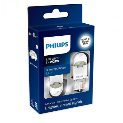 Светодиодные лампы Philips 11065XUWX2 X-tremeUltinon LED gen2 W21W