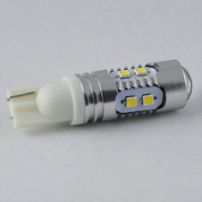 Светодиодная лампа с обманкой бортового компьютера под цоколь T10(W5W) samsung (2323) 10W 10-16V