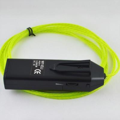 Комплект динамического холодного неона, II поколение, диаметр- 3,0мм., цвет- Лимонный