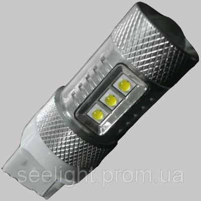 Светодиодная лампа в задних ход автомобиля с цоколем T20(7440) Cree+Epistar 80W 9-30V 1000lm Белый