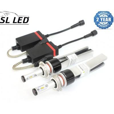 LED лампы в головной свет серии SLP7С Цоколь H7, 29W, 3600 Люмен/Комплект