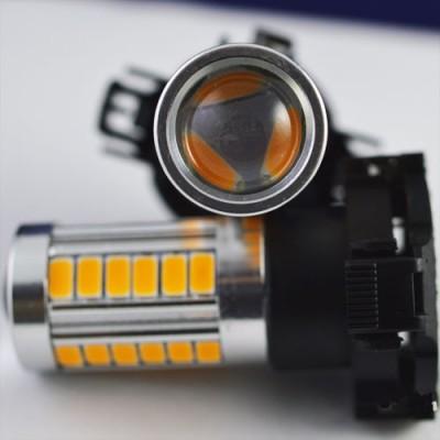 Светодиодная лампа SLP LED с цоколем PY24W 9-30V 33-5630 Желтый в повторитель поворота