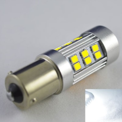 Светодиодная лампа SLP LED с цоколем 1156(P21W)(BA15S) 27-2835 SMD Белый