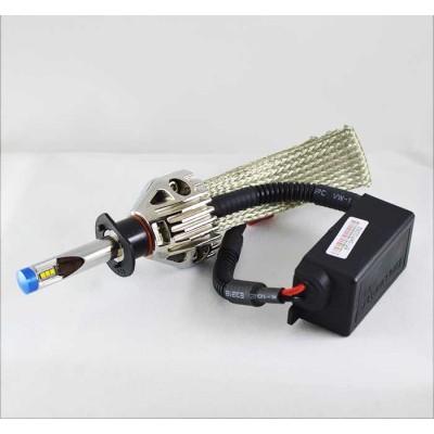 Комплект led ламп в основные фонари G9X под цоколь Н1 23W 2600 Люмен/Лампа