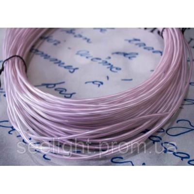 Электролюминесцентный провод (холодный неон) III поколение, диаметр- 2.6мм., цвет- белый