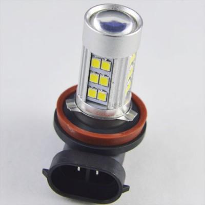 Светодиодная лампа SLP LED в противотуманные фонари с цоколем H11, H8 27-2835 SMD Белый