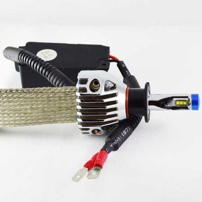 Комплект светодиодных ламп в ПТФ модели G9X под цоколь Н3 23W 2600 Люмен/Лампа