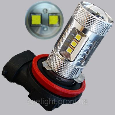 Автомобильная светодиодная лампа H11-12-2323 samsung+Cree10W 22W 9-30V-NW
