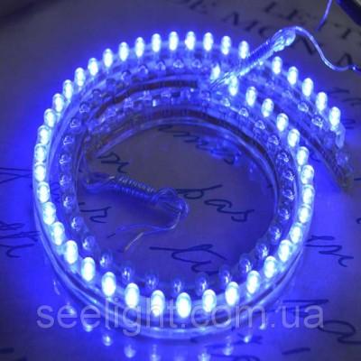 Автомобильная светодиодная лента 48см. влагозащищенная Синяя