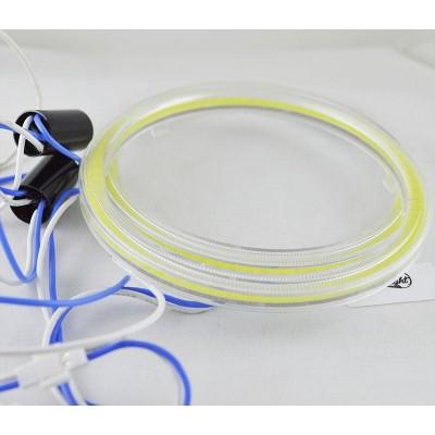 Светодиодные кольца (ангельские глаза) 100-90 мм. COB с рассеивателями