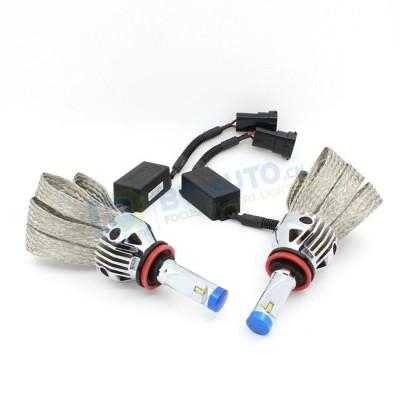 Комплект светодиодных ламп в головной свет G9X цоколь Н11/H8/H9/H16 23W 2600 Люмен/Лампа 6000K