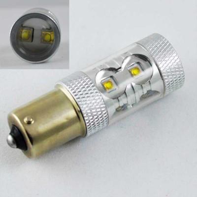 Светодиодная автомобильная лампа SLP LED с цоколем 1156 (P21W)(BA15S) Osram LH CPDP 30W 9-30V Белый