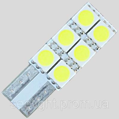 Автомобильная светодиодная лампа T10-5050-6-NP-NW