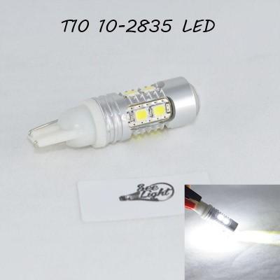 Светодиодная лампа SL LED с цоколем T10(W5W) 10-2835LED-5W- 12-24V