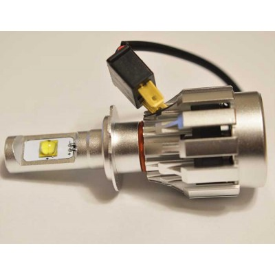 Комплект светодиодных ламп в основные фонари под цоколь H7 Cree 30W 3500 Люмен/Комплект