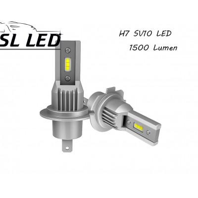 Комплект Led ламп серии SV10, цоколь H7 (PK22s) 13W-CSP led 6000K