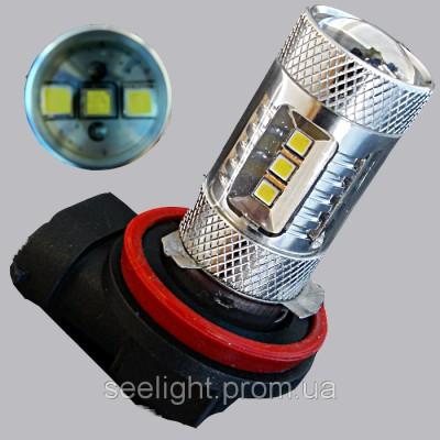 Автомобильная светодиодная лампа HB3-9-30V 15-2323-samsung-15W-NW