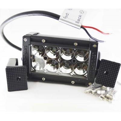 Дополнительная светодиодная фара 24W 8PCS*3W 10-30V белый
