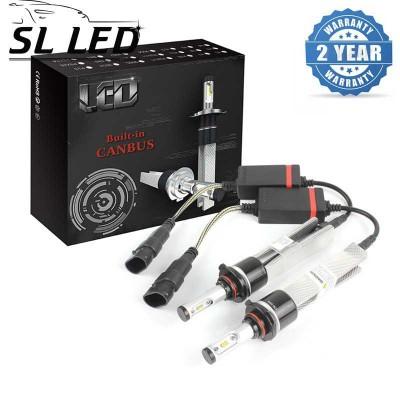 LED лампы в головной свет серии SLP7С Цоколь HB4, 9006, 29W, 3600 Люмен/Комплект