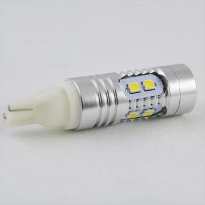 Автомобильная лампа SL LED Цоколь T10(W5W), 8-Samsung led -2323 + Cree led 5W 9-30V 6000K