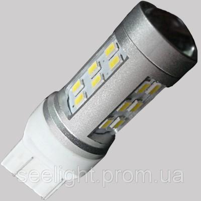Светодиодная лампа в фонарь заднего хода с цоколем T20(7443,7440) 21-3535-Белый