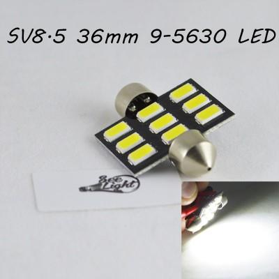 Светодиодная лампа SLS LED цоколь SV8,5(C5W) 36 мм 9-5630 Белый