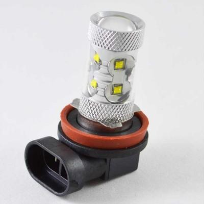 Светодиодная лампа на базе цоколя H11-canbus - EPISTAR Chip -10/30V-NP-50W-NW
