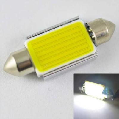 Светодиодная лампа SLS LED со встроенной обманкой бортового комп-ра SV8,5(C5W) 39mm COB 7.5W Белый