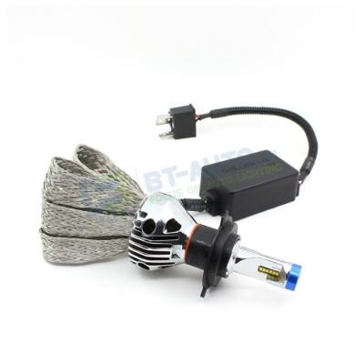 Комплект светодиодных ламп в основные фонари G9X под цоколь Н4 23W 2600 Люмен/Лампа