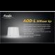 Диффузионный фильтр белый для Fenix TK40, TK41, TK50, TK60