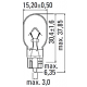 Светодиодная автомобильная лампа SLP LED с цоколем T15(W16W) Epistar 65W в фонарь заднего хода